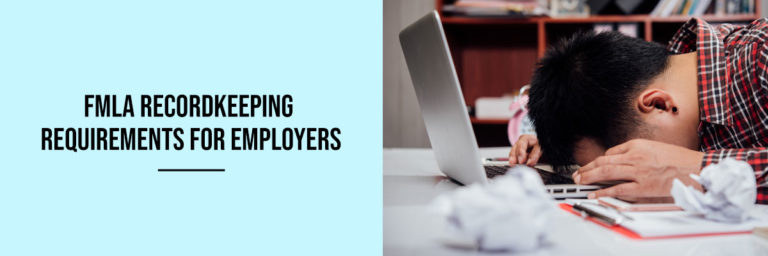 FMLA-recordkeeping-requirements-for-employers