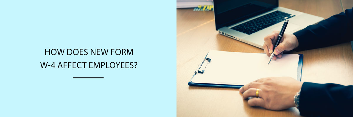 How-does-new-form-W-4-affect-employees