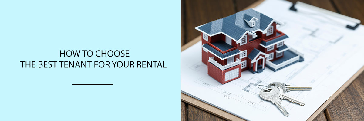 How to Choose the Best Tenant for Your Rental