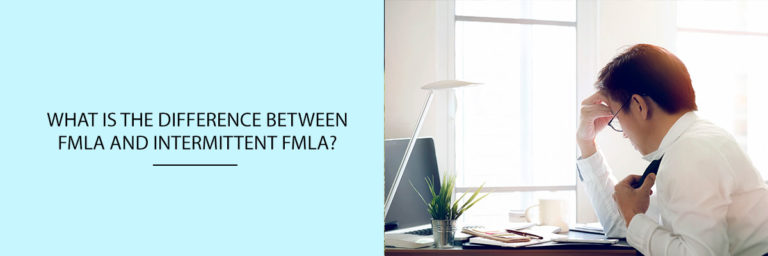 What is the difference between FMLA and intermittent FMLA