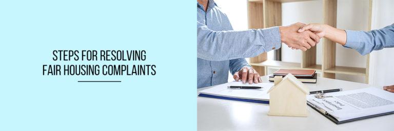 Steps-for-Resolving-Fair-Housing-Complaints